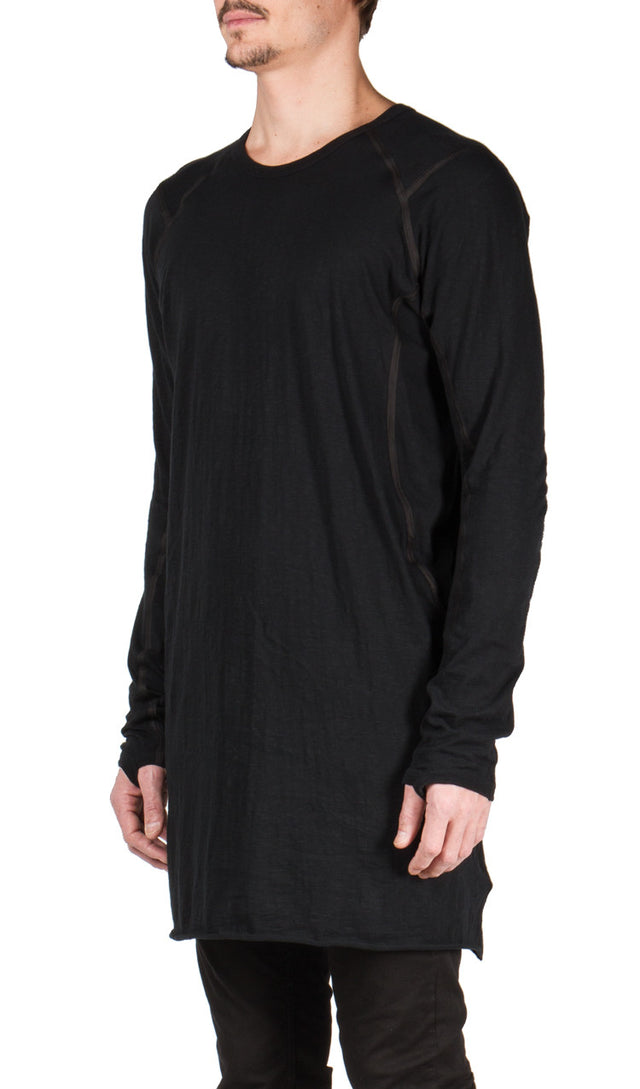 isaac sellam Apaise T-shirt in Black