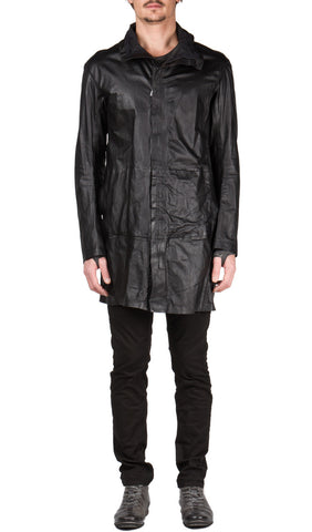 Impertenant Leather Parka