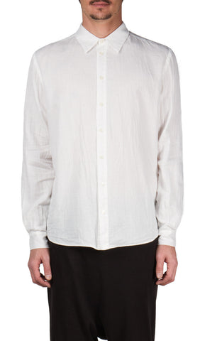Juxtaposed Shirt in White