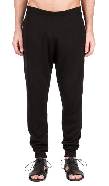 Embroidery Seam Jogging Pant