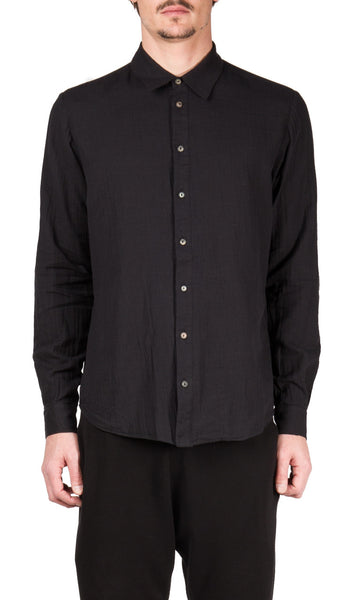 Juxtaposed Shirt in Black