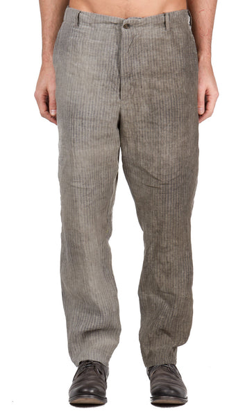 Scrub Pants in Dusty Stripe