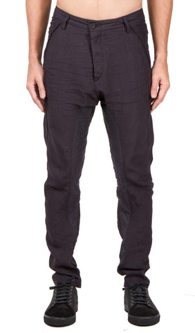 slant pocket trouser