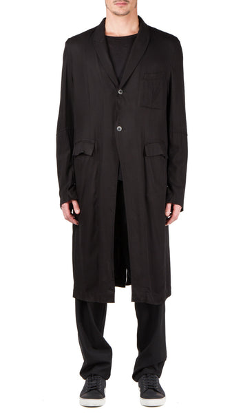 2 button coat