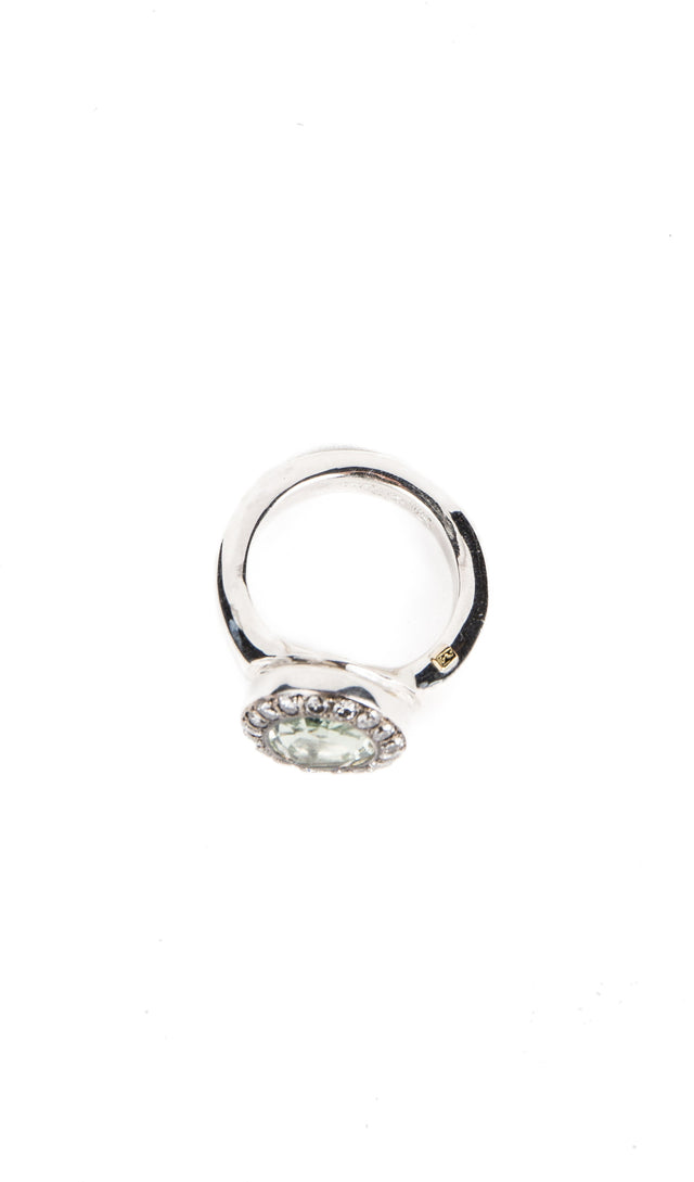 RosaMaria Iroma Ring With Grey Diamonds