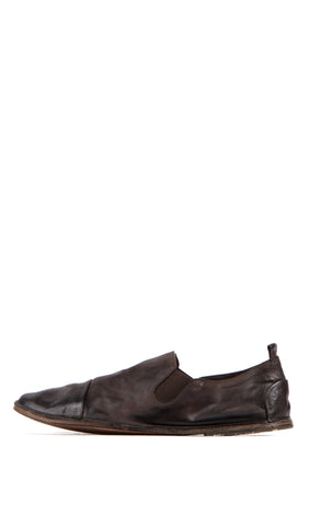 brown strasacco slip on