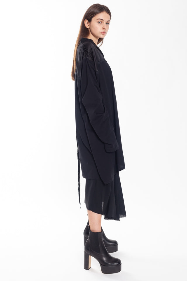 Ann Demeulemeester Elmer Black & Beverly Black Dress