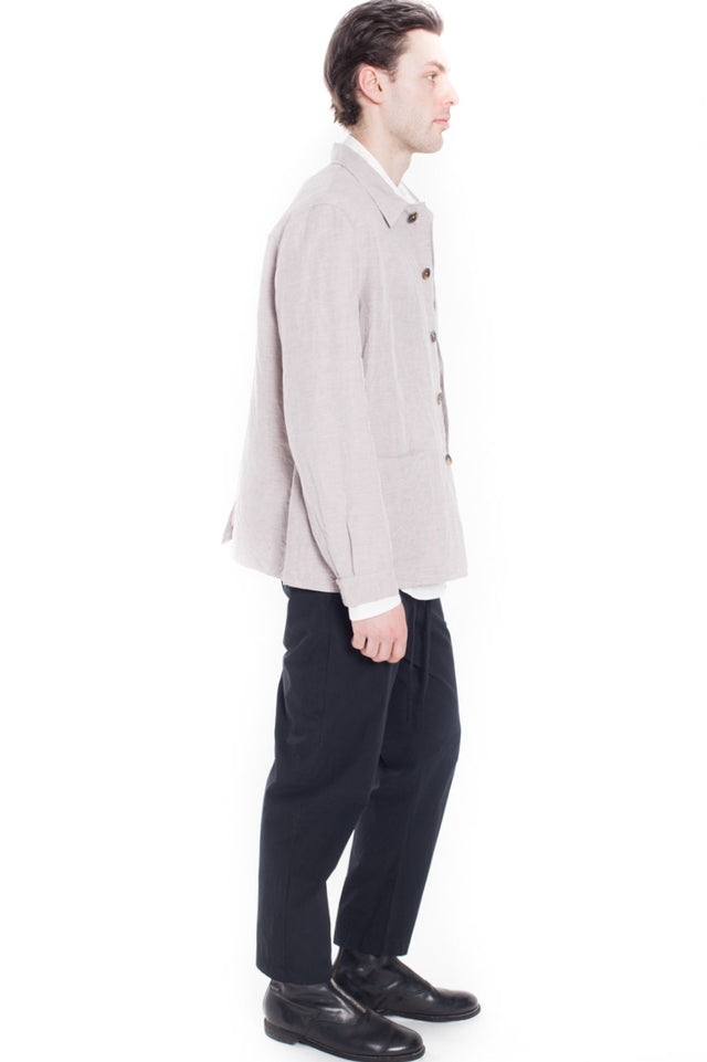 Forme D'Expression French Work Jacket in Blush