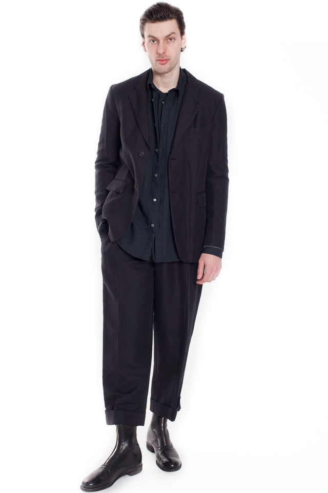 Forme D'Expression Tucked +Cuffed Pant