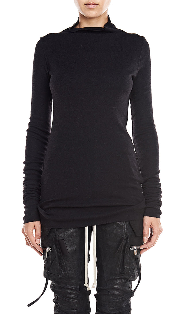 Rick Owens Lilies T-Shirt In Black