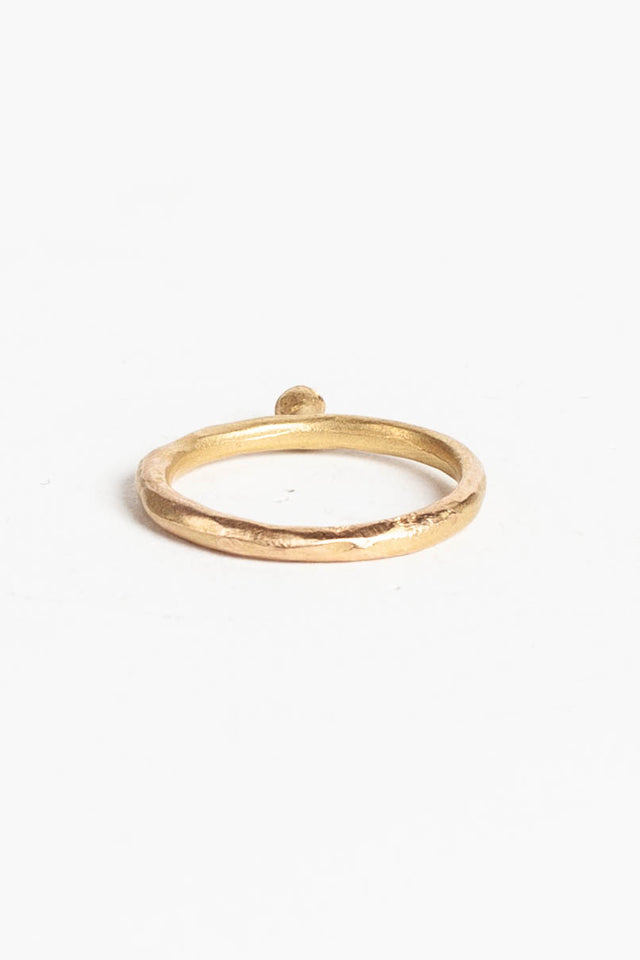 Rene Talmon L'Armee Ring with Gold & Black Diamond