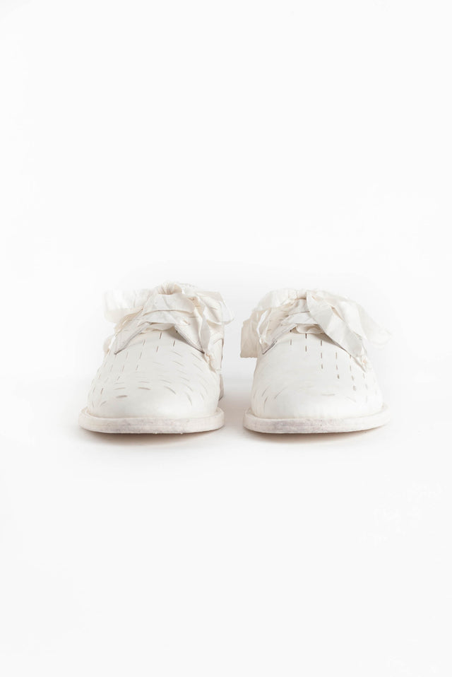 Ann Demeulemeester Downey Shoe in White