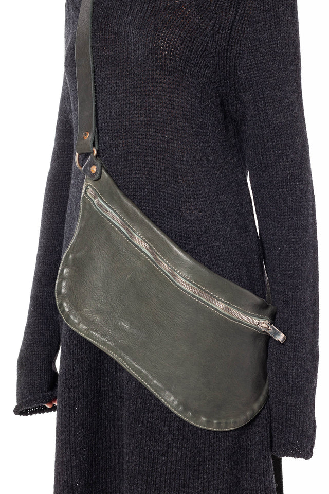 Guidi Q10M Soft Horse Bag In Sage