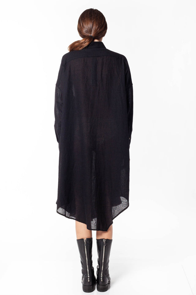 Forme D'Expression Asymmetric Shirt Dress