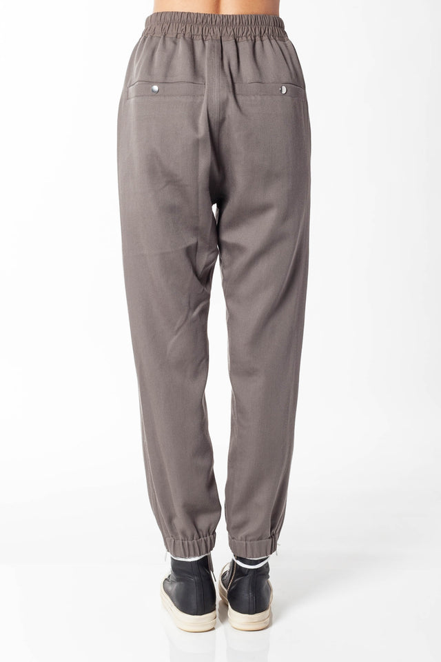 Rick Owens Track Pants In Dust