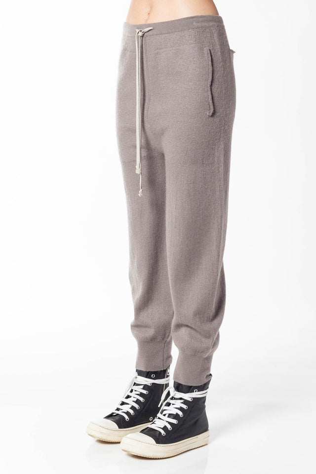 Rick Owens Track Pant In Dust