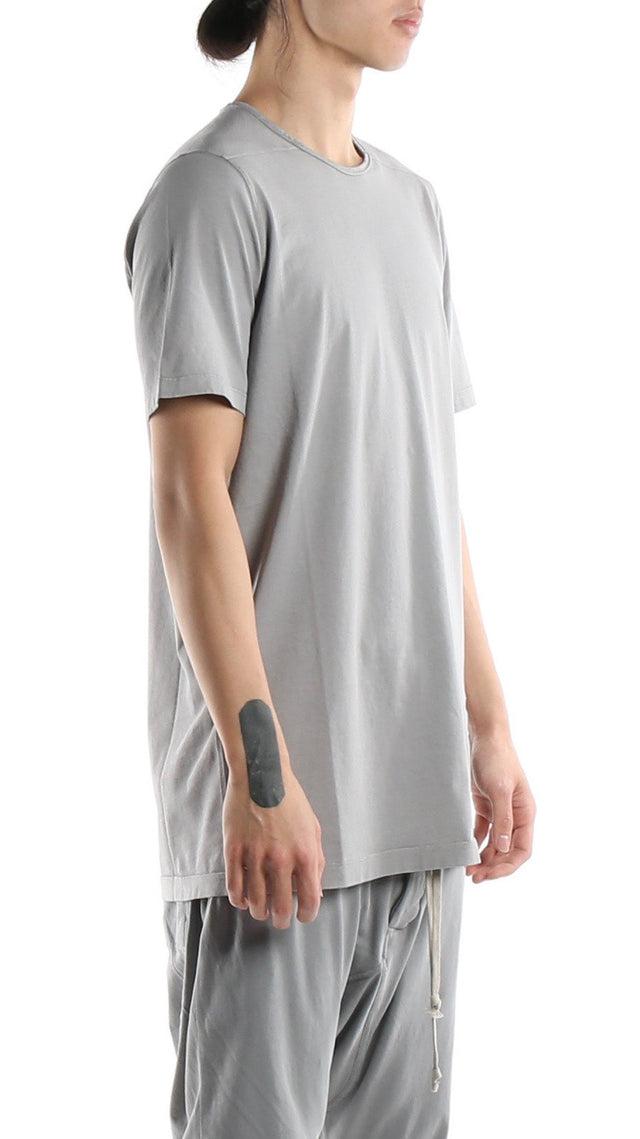 Rick Owens Drkshdw Level Tee in Stone