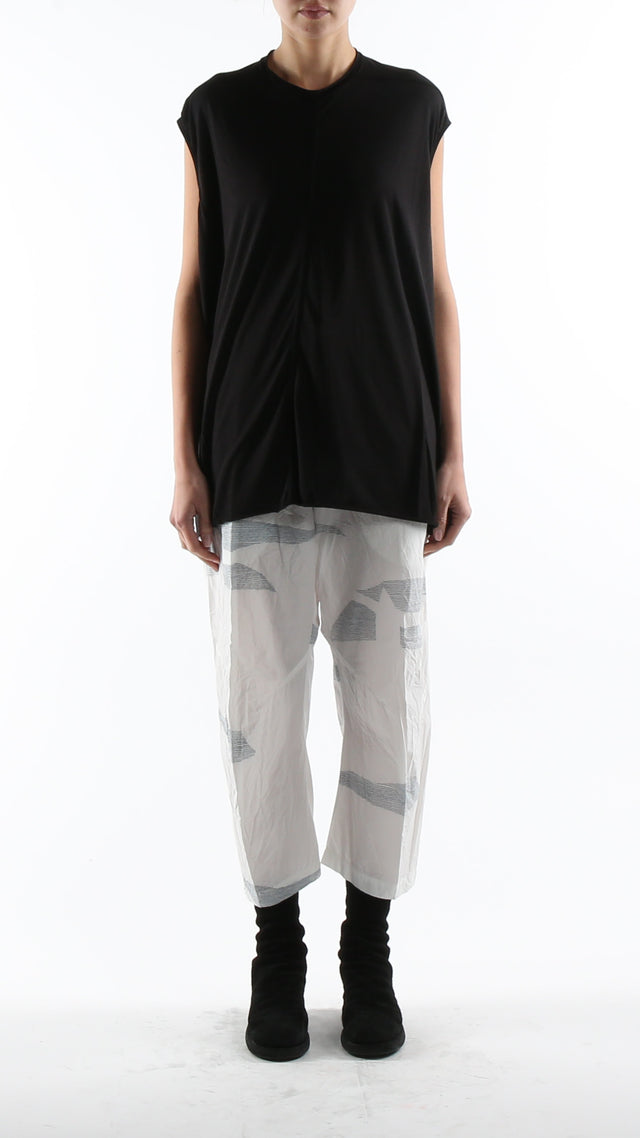 Forme d'expression Cropped Swag Pants In Mirage