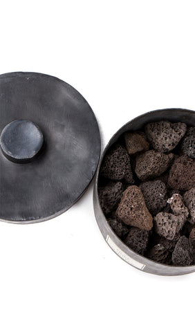 black champaka pot pourri