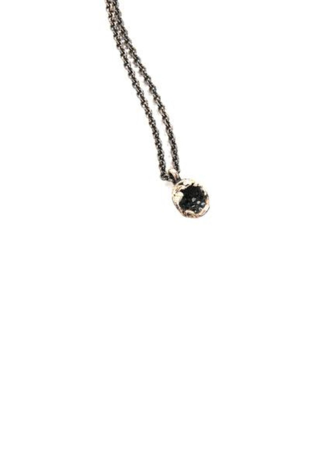 Tobias Wistisen Lava Tear Stones Necklace