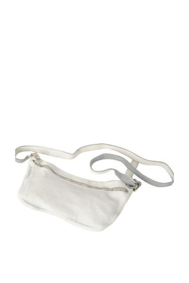 Guidi Q10 Soft Horse Bag in White