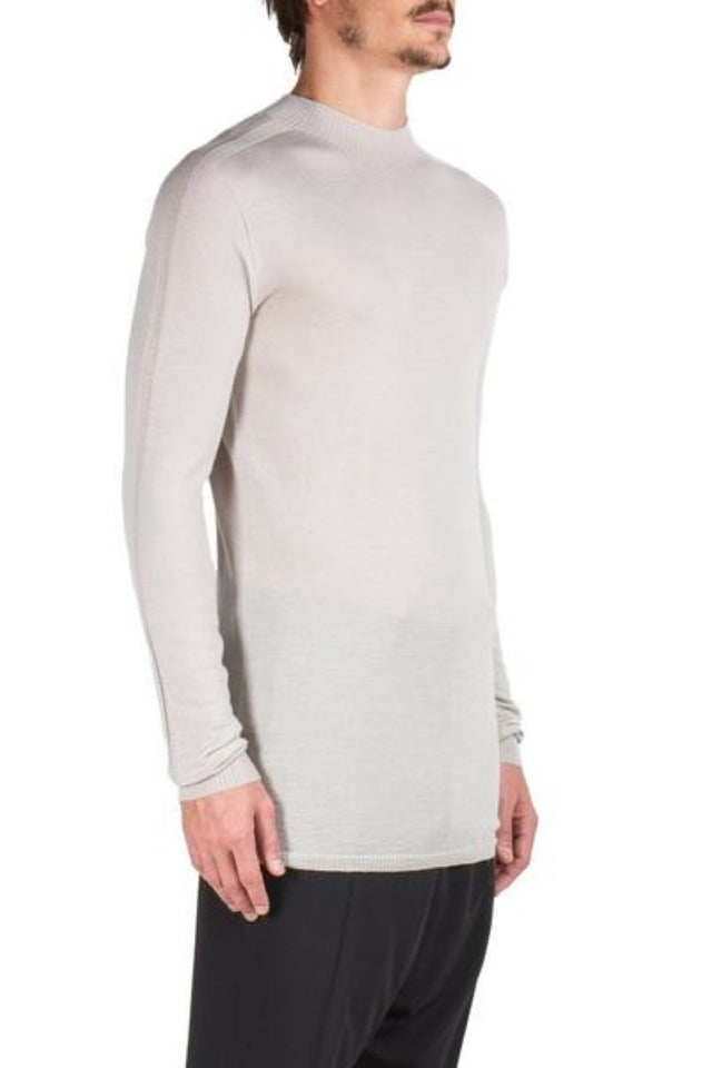 Rick Owens Level Lupetto Sweater In Dinge