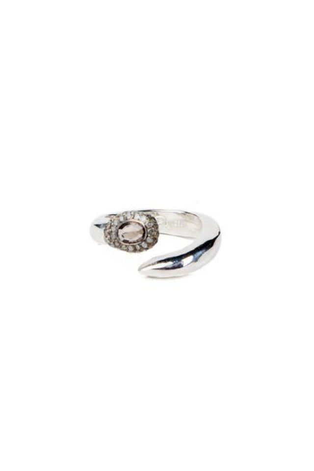Rosa Maria Toko Ring With Ice Grey Diamonds