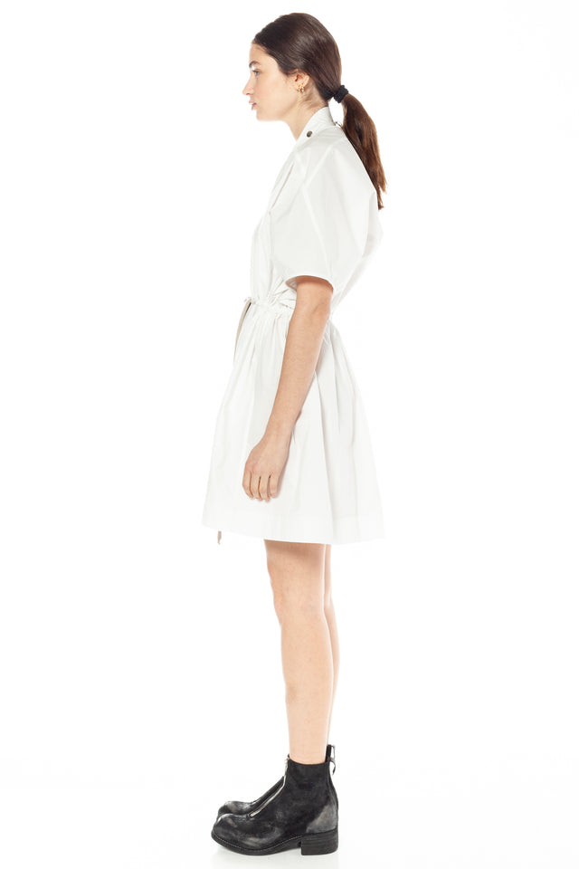 Sail Minidress In Chalk White
