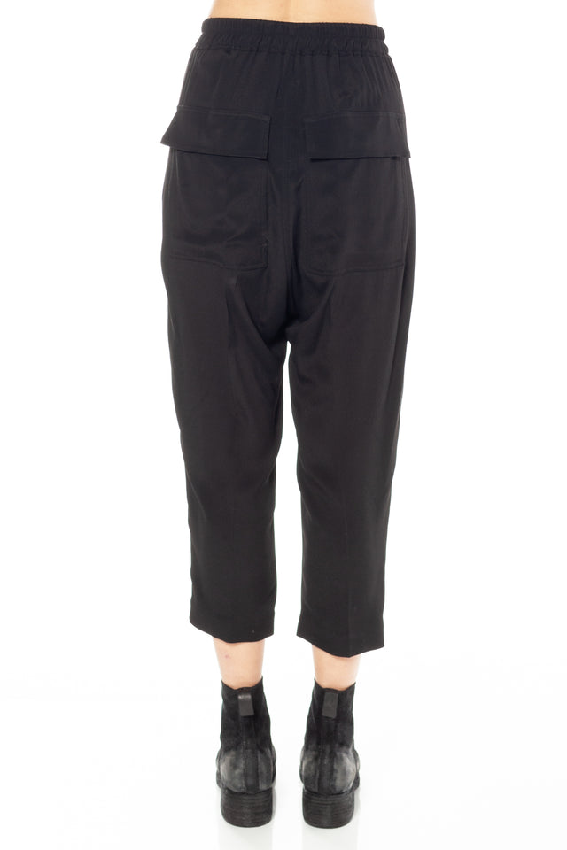 Rick Owens Drawstring Cropped Astaires