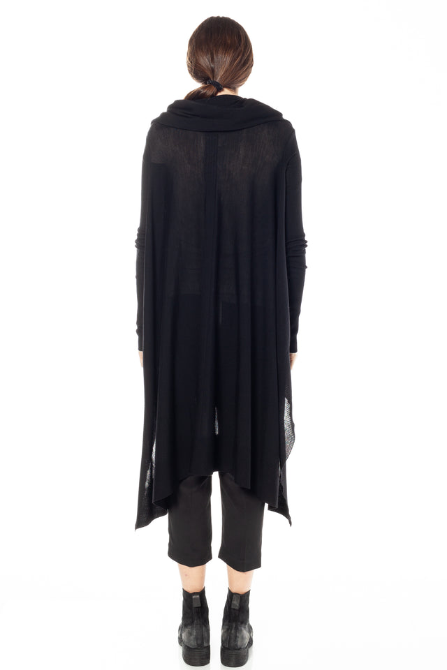 Poncho In Black