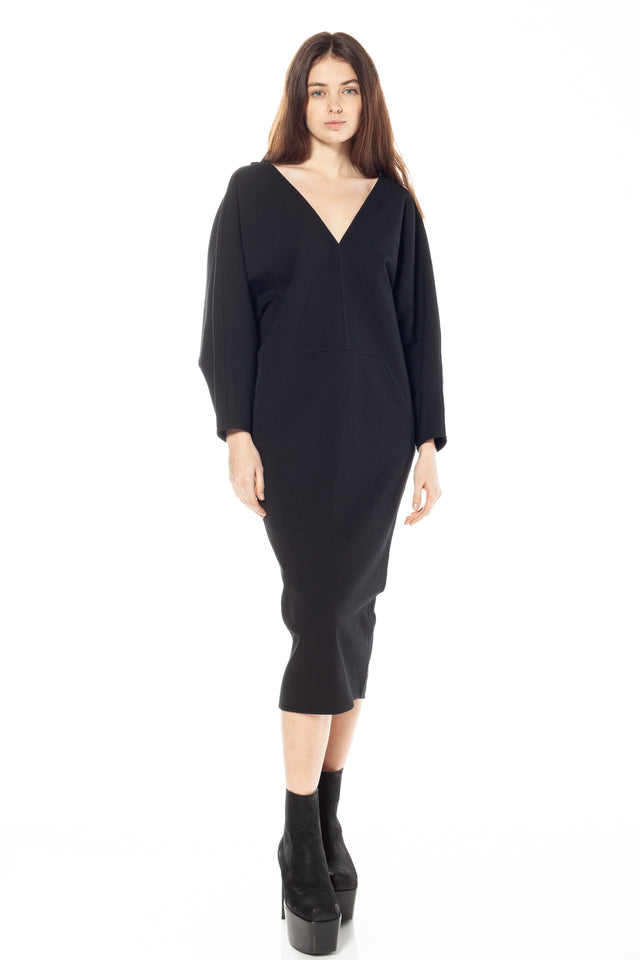 Rick Owens Release Dress In Black