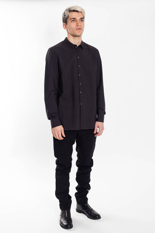 Label Under Construction Shirt in Black
