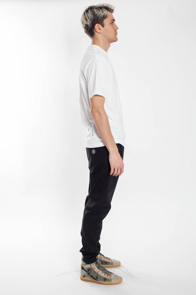 Y3 SS Logo T-shirt in Core White