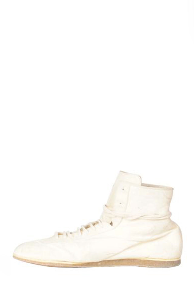 Guidi RN02P Kangaroo Sneaker In White