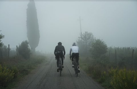 souplesse cycling winter ride