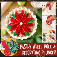 Load image into Gallery viewer, Pastry Wheel Roll and Decorating Plunger