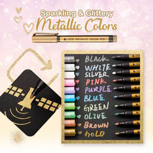 Load image into Gallery viewer, Waterproof Glitter Paint Marker (10-Pack)