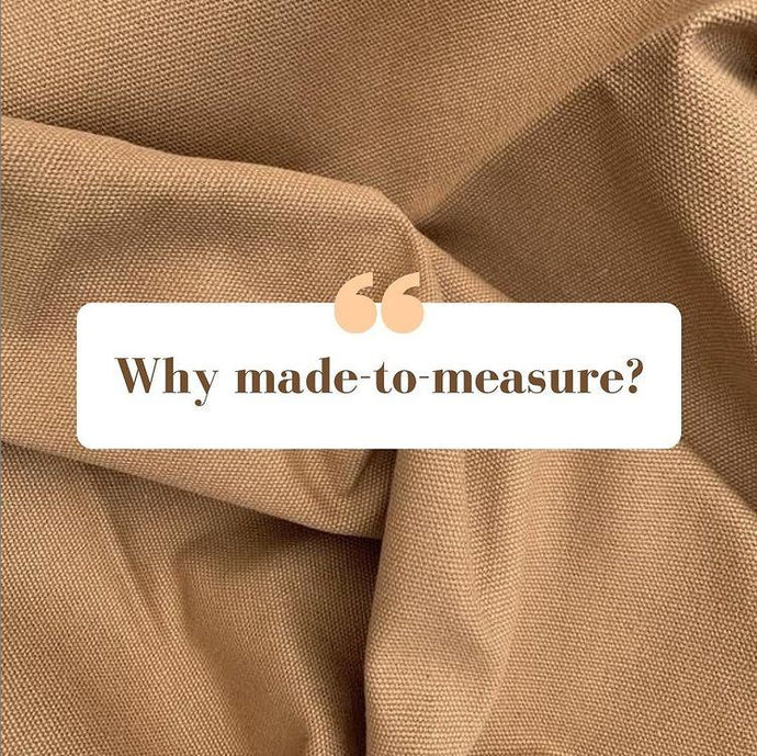 Why Made-to-Measure?