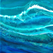 "Channel Azure - 24"" x 36"""