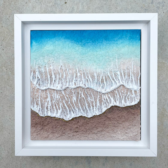 "Washed Away #5 - 6"" x 6"""