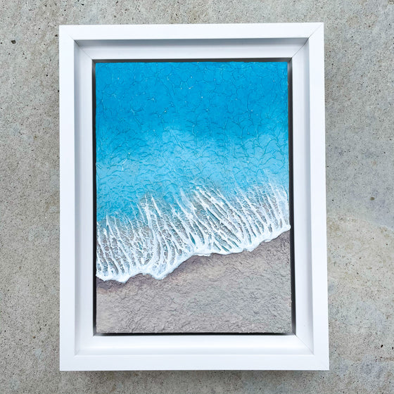 "Washed Away #4 - 5"" x 7"""