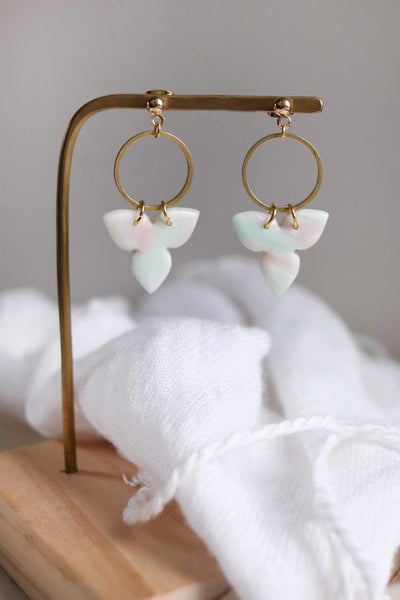 Baby's Breath Earrings - Petal & Posy