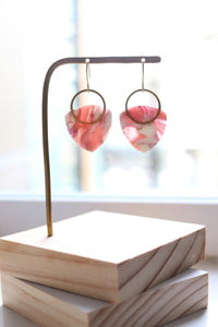 Blush Earrings - Petal & Posy