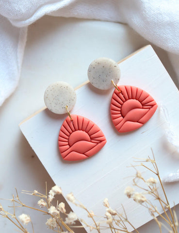 Daybreak Earrings - Petal & Posy