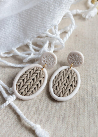 Sweater Weather Earrings - Petal & Posy