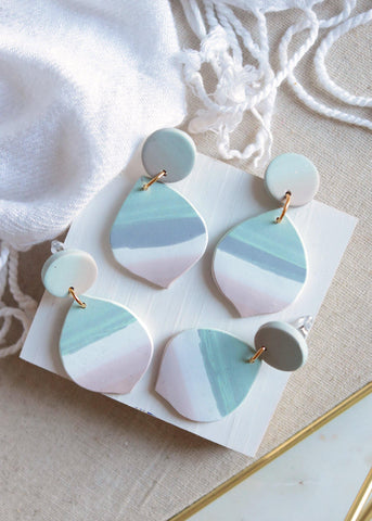 Open Oceans Earrings - Petal & Posy