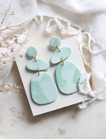 Misty Morning Earrings