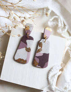 Orchid Earrings - Petal & Posy