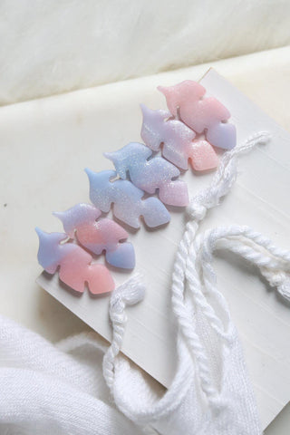 Take Flight Studs in Lavender, Lilac and Pink - Petal & Posy