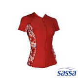 Sahara Sunset Short Sleeved Rashguard